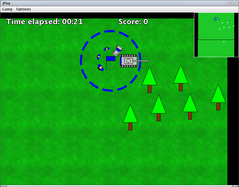 Sample of a JFlag game